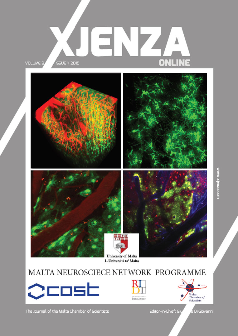Xjenza Online Vol. 3 Iss. 1 - August 2015