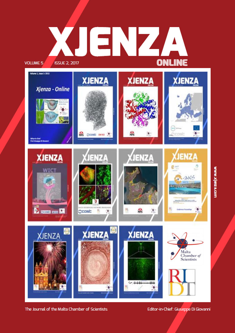 Xjenza Online Vol. 5 Iss. 2 - December 2017
