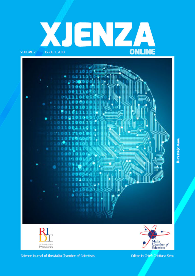 Xjenza Online Vol. 7 Iss. 1 - September 2019