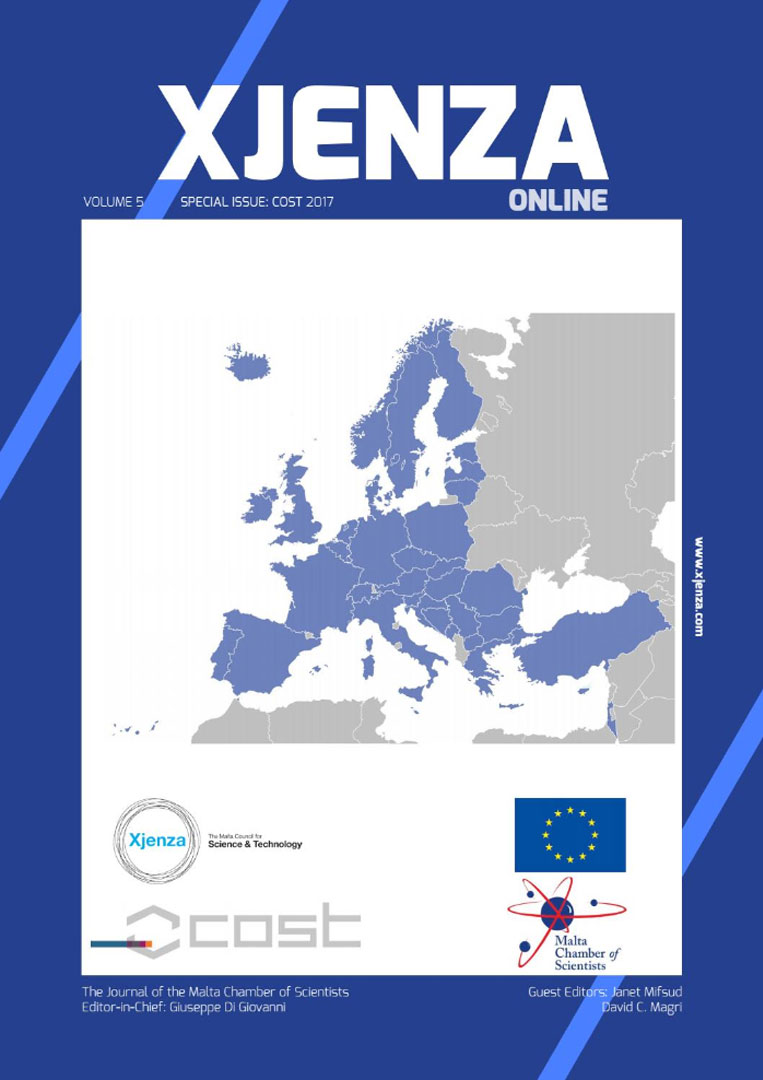 Xjenza Online - COST Special Issue - March 2017